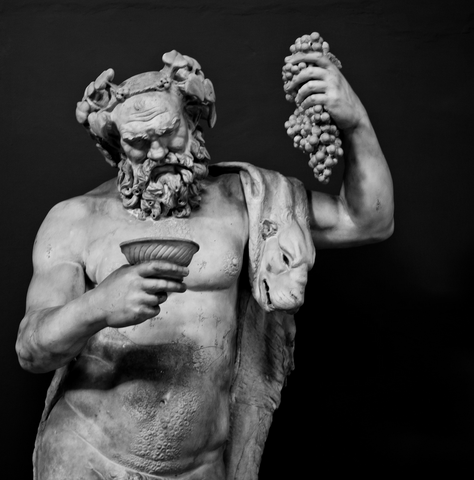 god of intoxicating drinks Dionysus