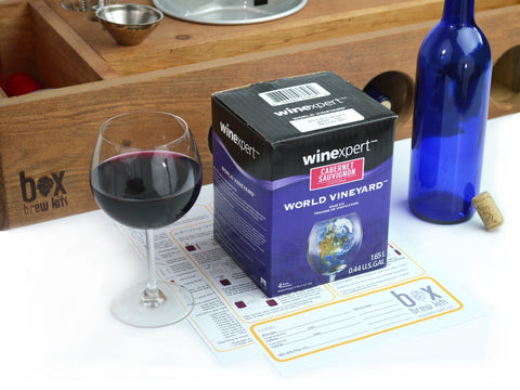 Cabernet Sauvignon One Gallon Winemaking Ingredient Pack