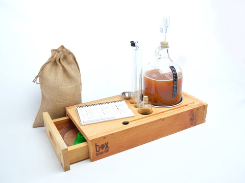 Microbrewer - One gallon beer making kit - Scrap Heap Edition