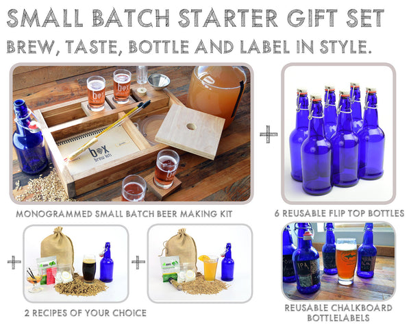 Small Batch Beer Making Starter Gift Set