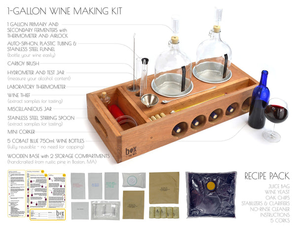 Handcrafted Small Batch Wine Making Kit Brew Your Own