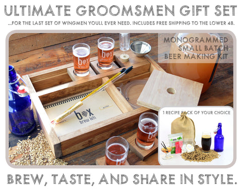 Ultimate Wedding Groomsmen Gift Set (sets of 3 or more)