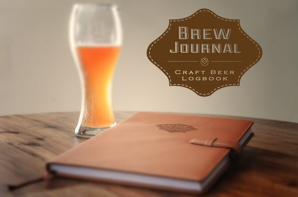 The Brew Journal Homebrewing Recipe Logbook
