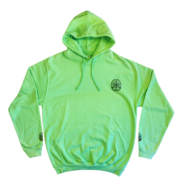 Hulk and Handy - Adult Hoodie - Apple Green