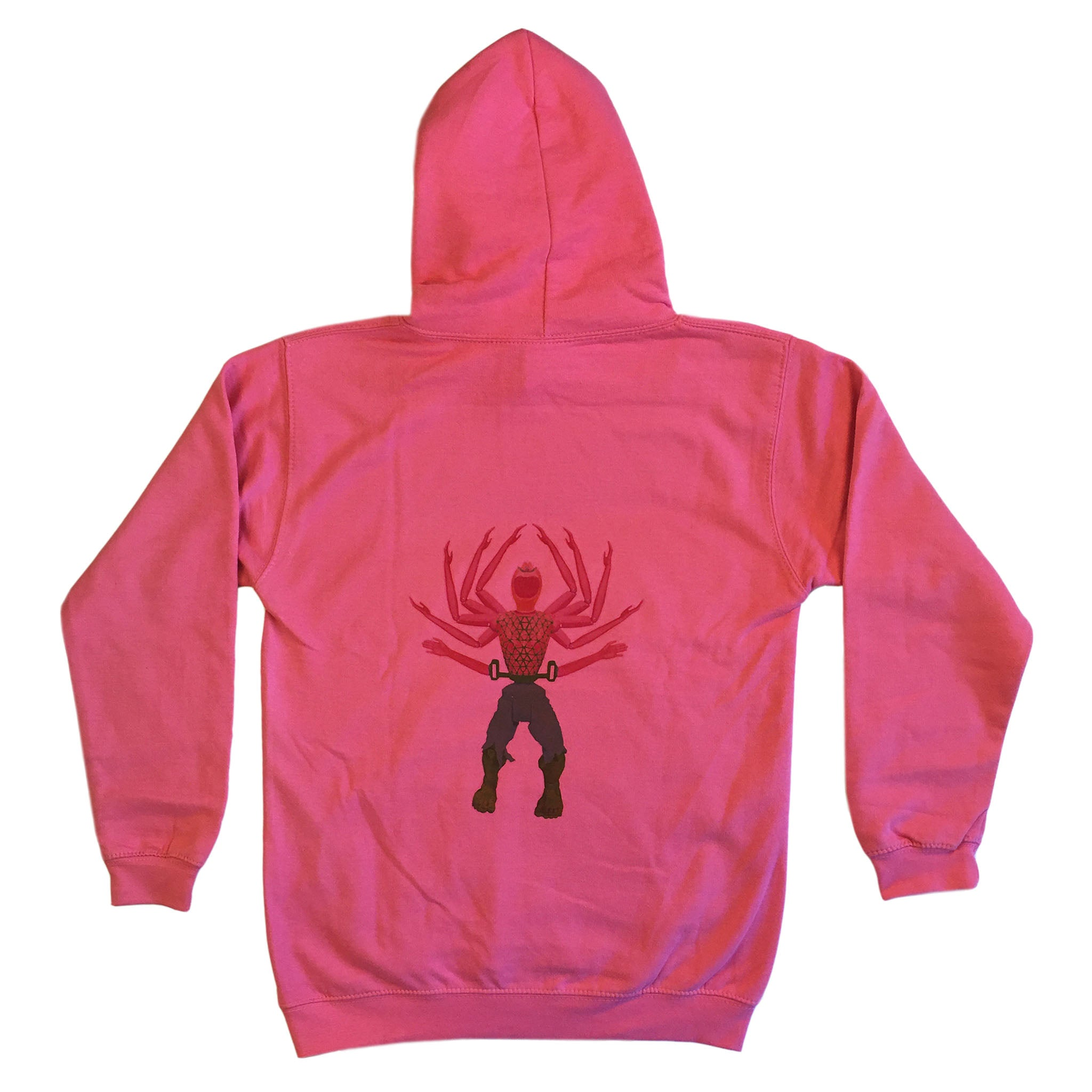 Hulk and Handy - Youth Hoodie - Hot Pink