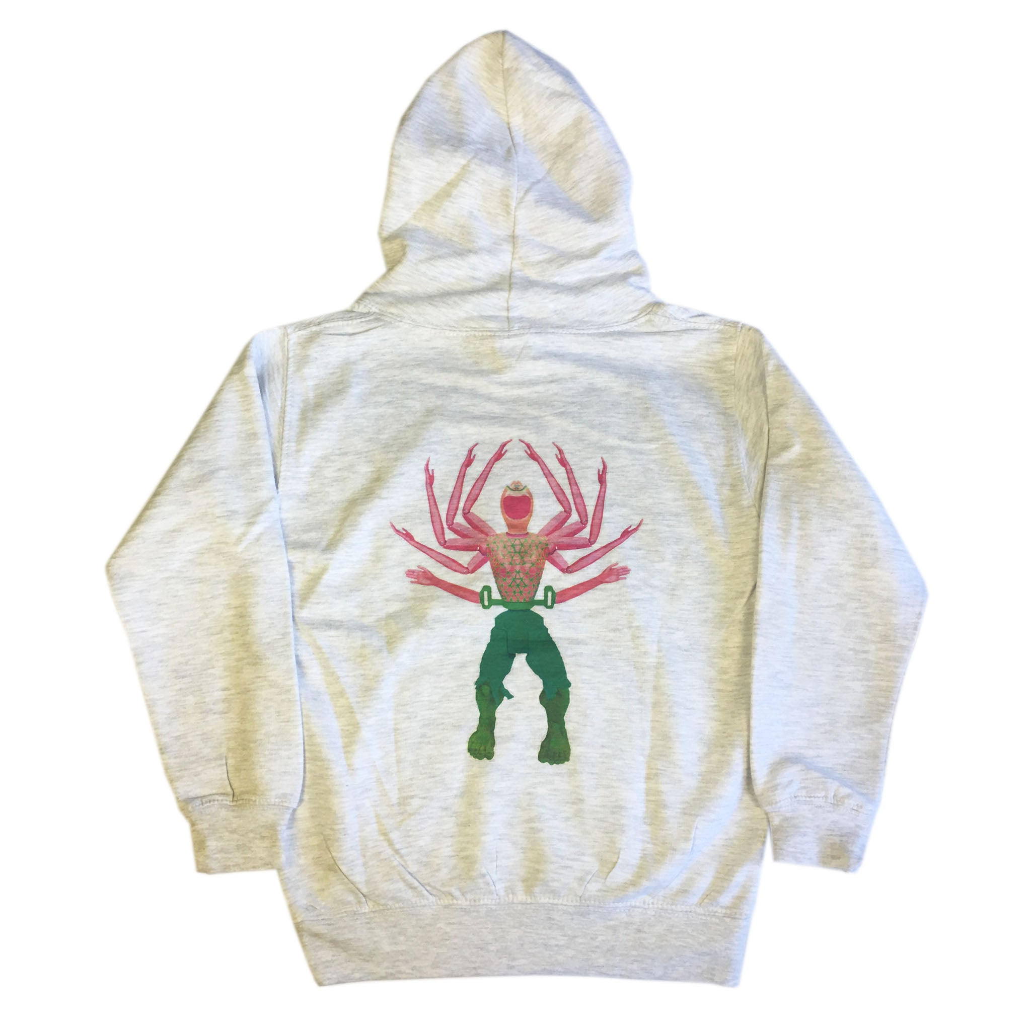 Hulk and Handy - Youth Hoodie - Ash