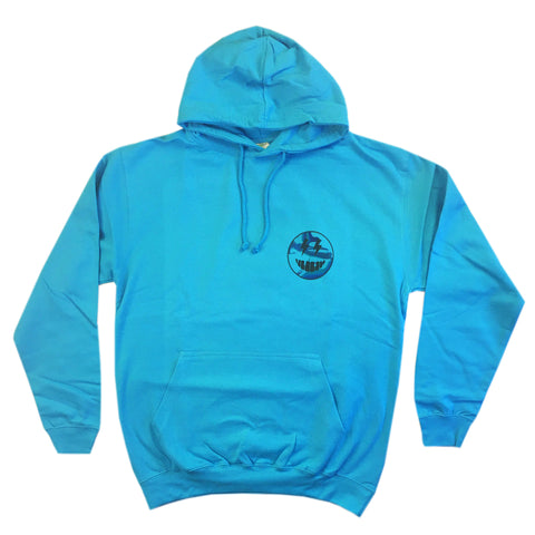 Talking Pictures - Adult Hoodie - Hawaiian Blue
