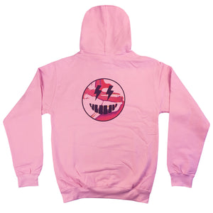 Talking Pictures - Adult Hoodie - Baby Pink