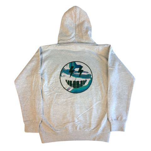 Talking Pictures - Youth Hoodie - Heather Grey