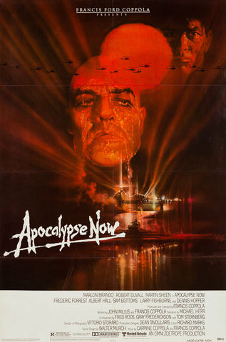 Apocalypse Now 1979 original vintage US 1 sheet film movie poster