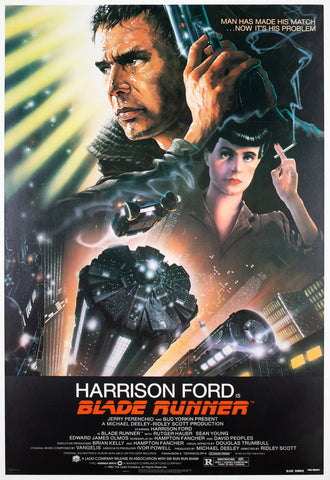 Blade Runner 1982 US 1 Sheet Film Poster, Alvin