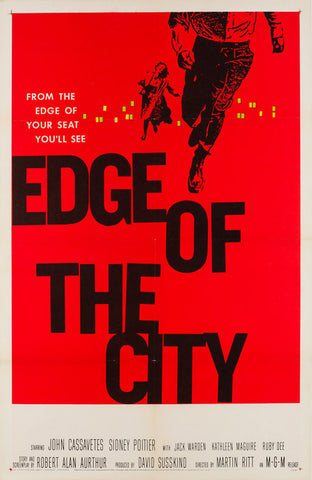 Edge of the City 1957 US 1 Sheet film poster
