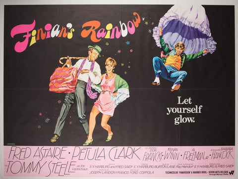 Finian's Rainbow 1968 UK Quad Film Poster, Chantrell