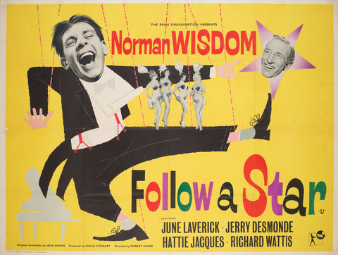 Follow a Star 1959 UK Quad Film Poster