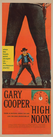 High Noon 1952 US Insert Film Poster