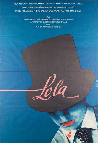 Lola 1983 Czech A1 Original Film Movie Poster
