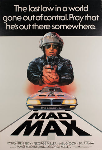 Mad Max 1979 UK 1 Sheet Film Poster Tom Beauvais