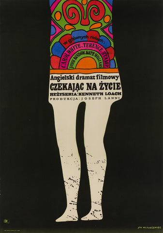 Poor Cow 1969 Polish A1 original film movie poster
