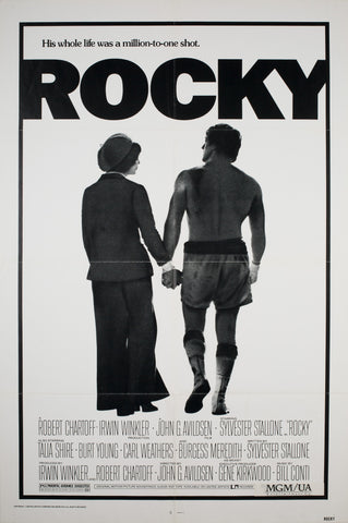 Rocky 1976 US 1 Sheet Film Poster