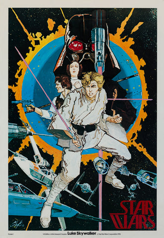 Star Wars 1976 Chaykin US original film movie poster