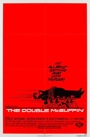 The Double McGuffin 1979 Film Poster Saul Bass