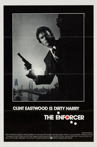 The Enforcer 1976 original vintage US 1 sheet film movie poster - Clint Eastwood, Dirty Harry