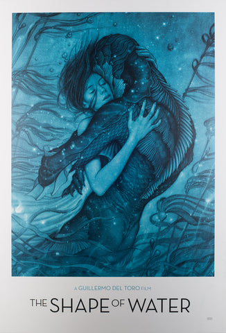 The Shape of Water 2017 US Special Film Poster, Jean