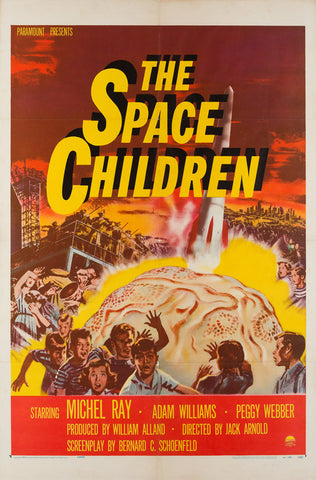 The Space Children 1958 US 1 Sheet original film movie poster