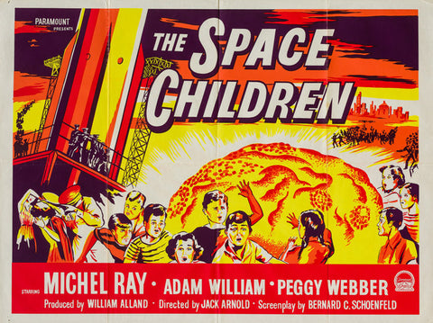 The Space Children 1958 original vintage UK quad film movie poster - sci-fi