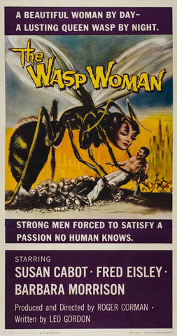 The Wasp Woman 1959 US 3 Sheet original film movie poster