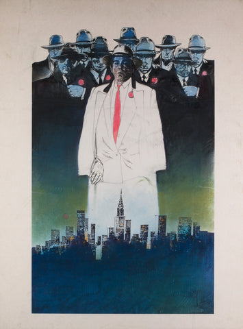 Married to the Mob 1988 Concept Artwork by Vic Fair