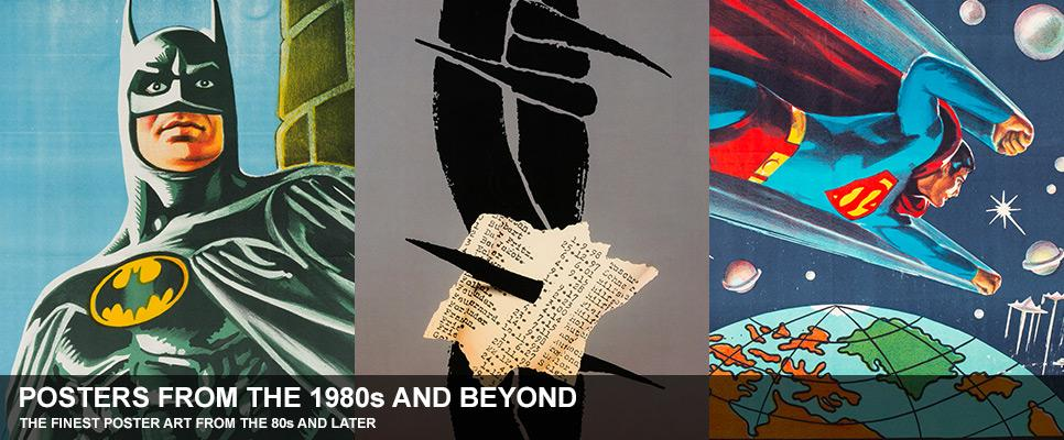 Posters from the 80s and later