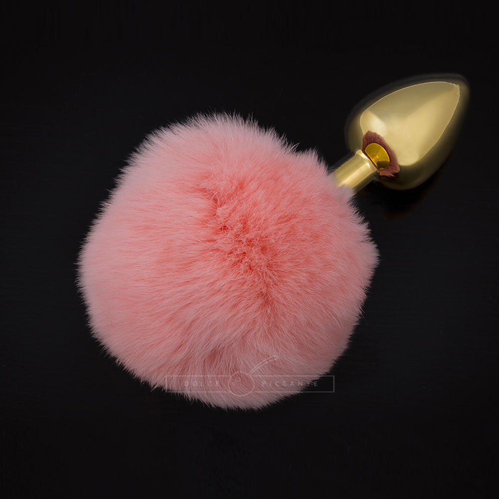 Dolce Piccante Jewellery Plug With Tail  Small Pink