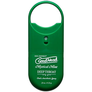 Good Head Deep Throat To Go Oral Anesthetic Spray Mint