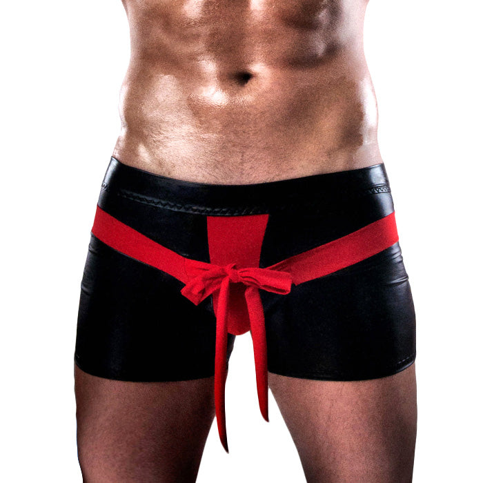 Passion Red And Black Shorts
