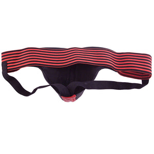 Rouge Garments Jock Black And Red