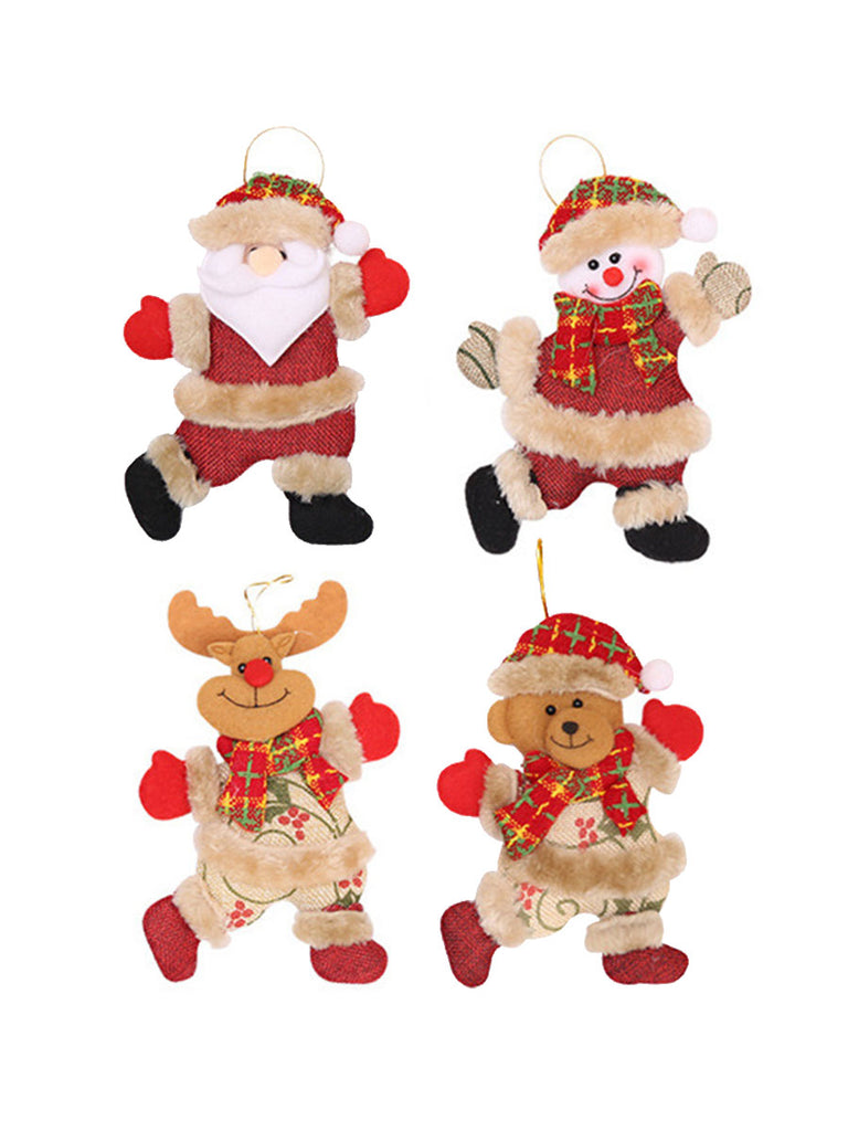 Festival Ornaments Christmas Toy Hang Decoration For Home