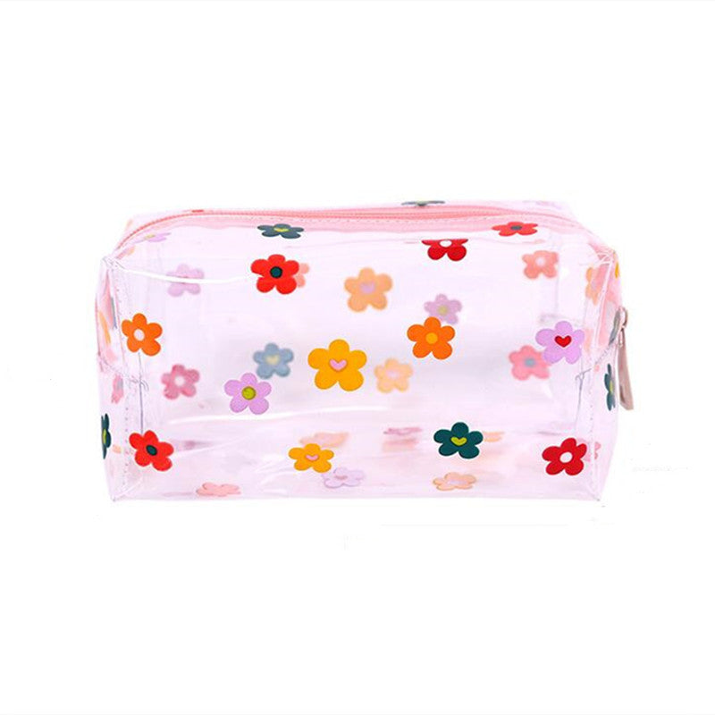 Lovely Cartoon Wash Bag Large Capacity Waterproof PVC Cosmetic Bag