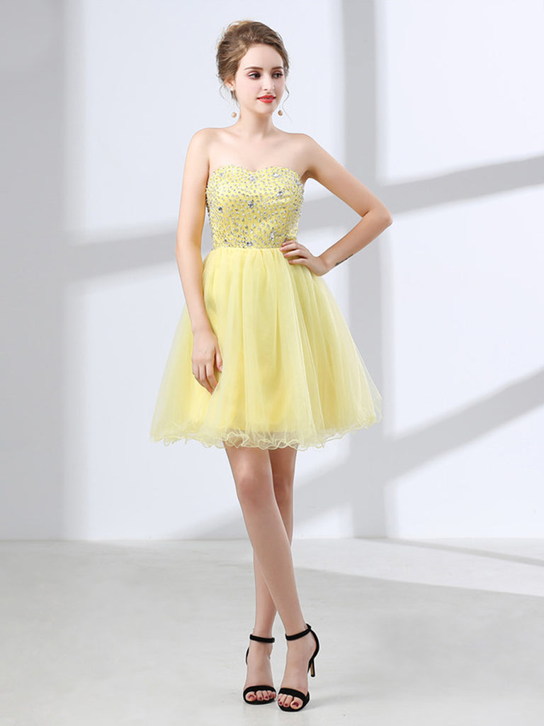 Party Dress Beading Stylish Sequined TubeTop Dress