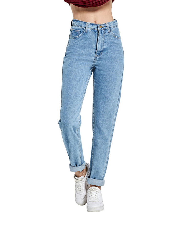 Vintage Jeans Modified Leg Type High Waist Jeans