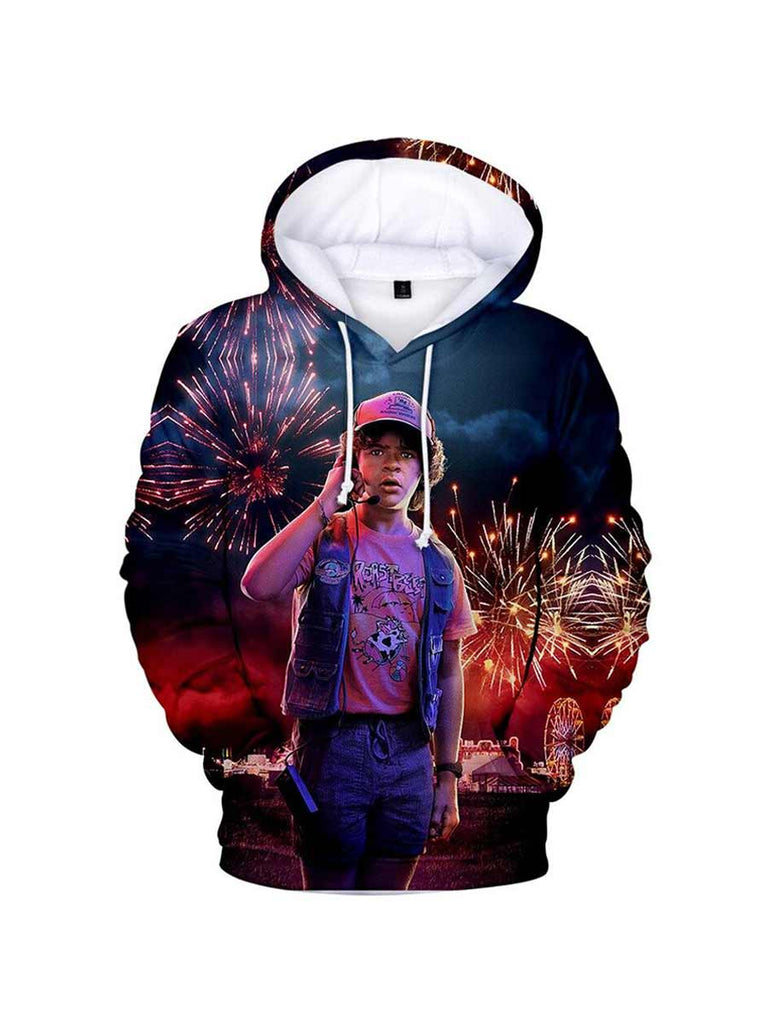 TV Series 3D Print Stranger Things Hoodies Winter Sweatshirts Fashion Funny Hoodie