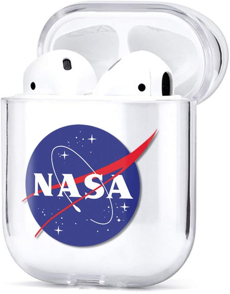 NASA Acryllic Shockproof Case for Airpods 1 & 2