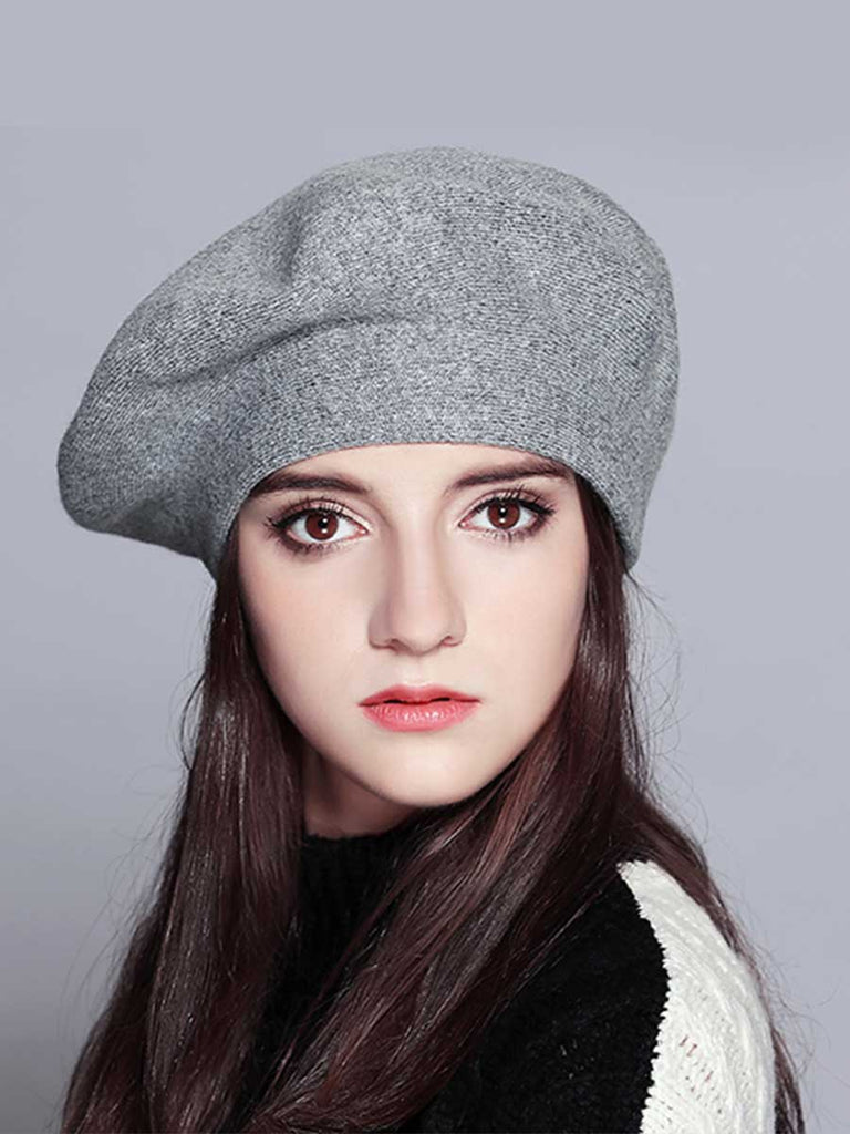 Women Vogue Hat Knitted Beret For Winter
