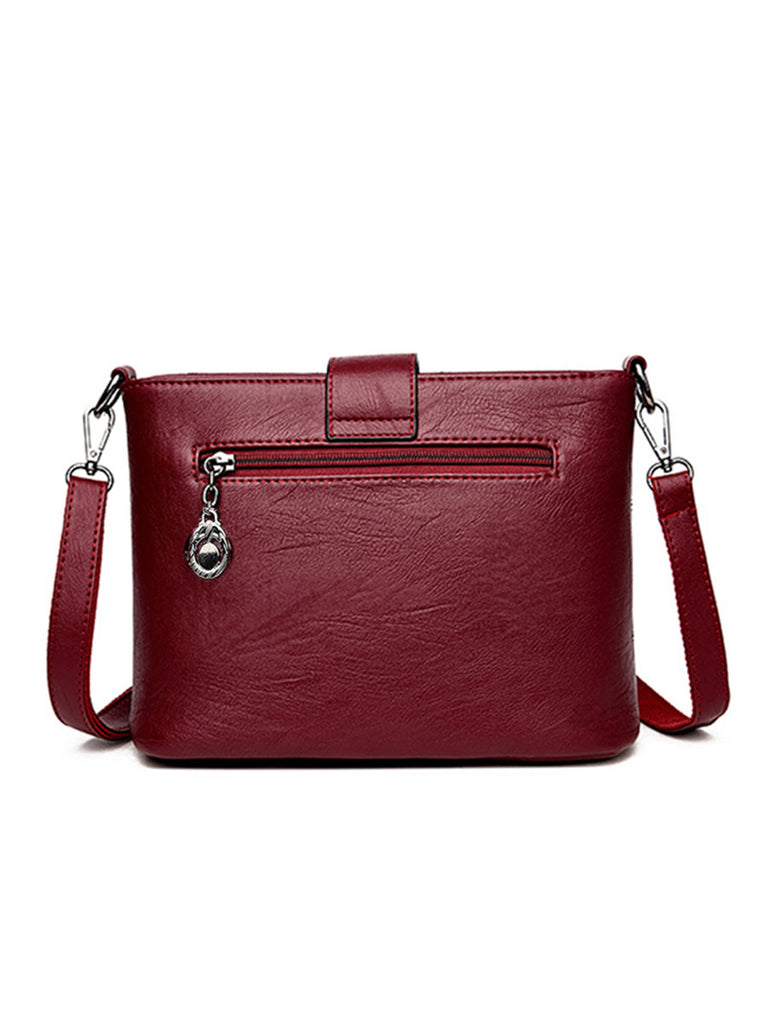 Women Messenger Bag Luxury Wild Small Square Shoulder Bag