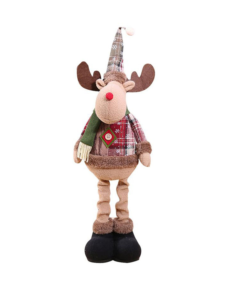 Christmas Ornaments Elk Santa Snowman Tree Decoration