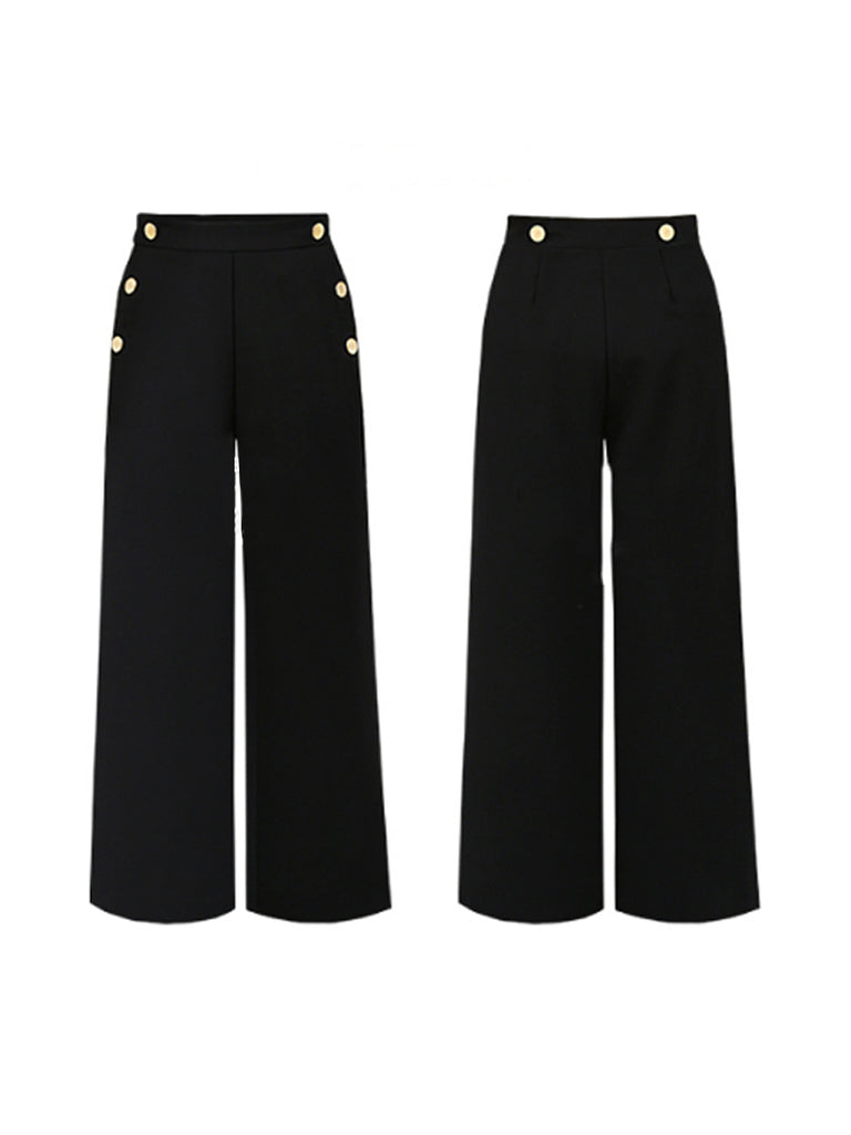 Casual Pants All-Match Two Wear Ladies Suspender