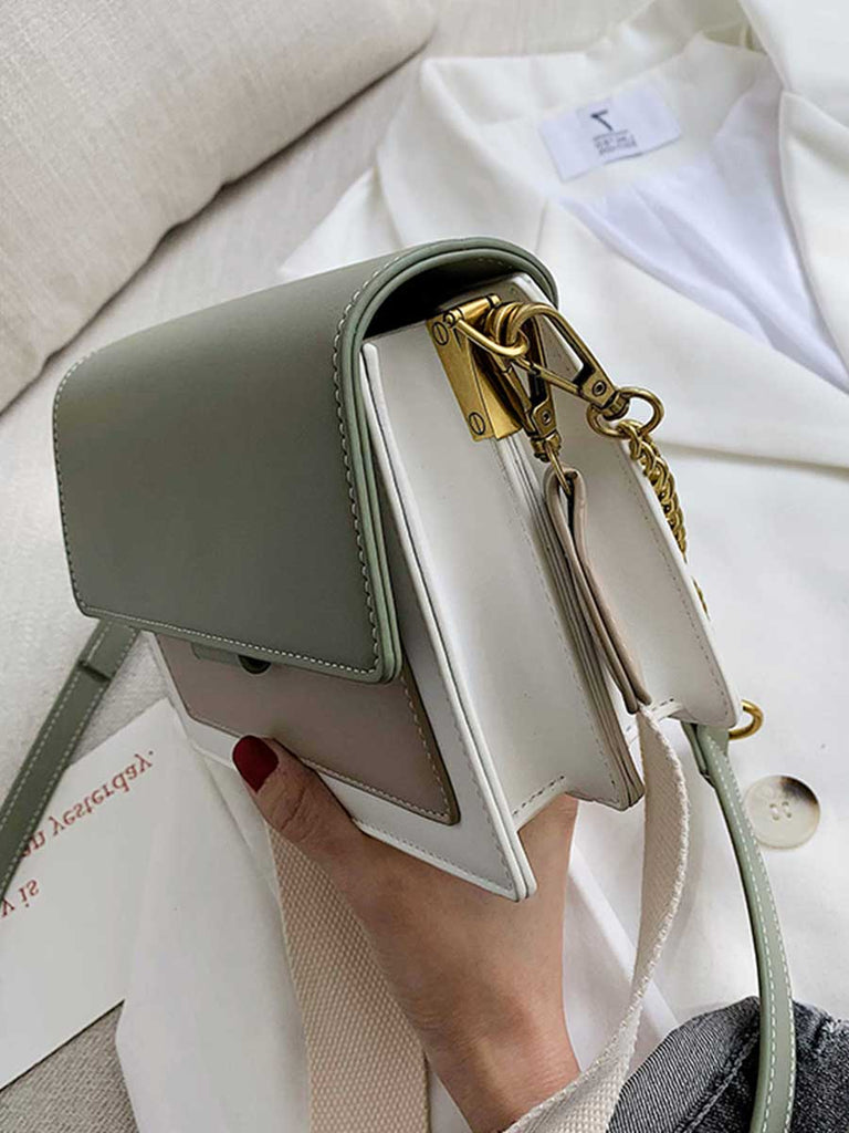 Leather Crossbody Bag Ladies Mini Shoulder Messenger Bag