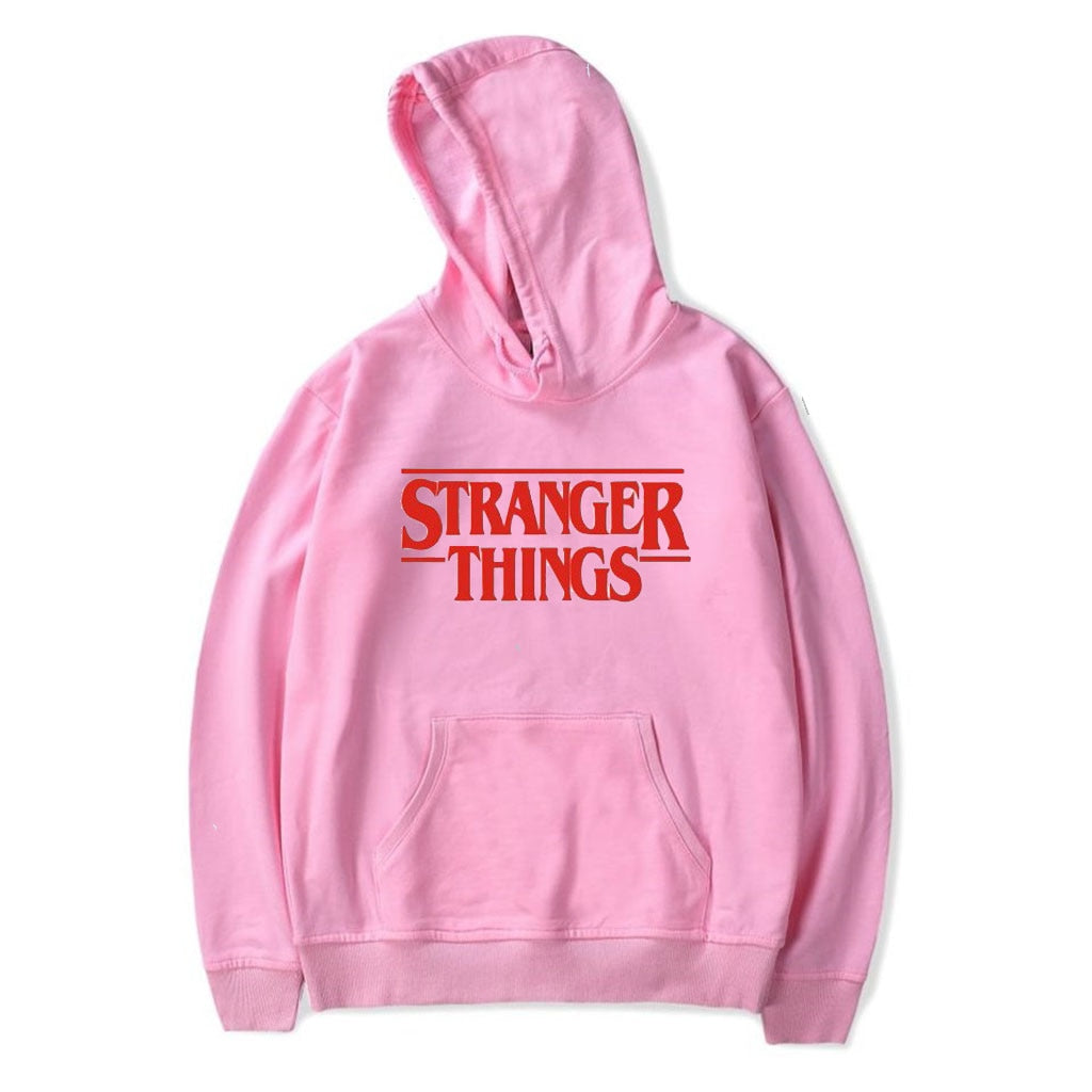 Kids Stranger Things Hoodies Letter Print Casual hoodies