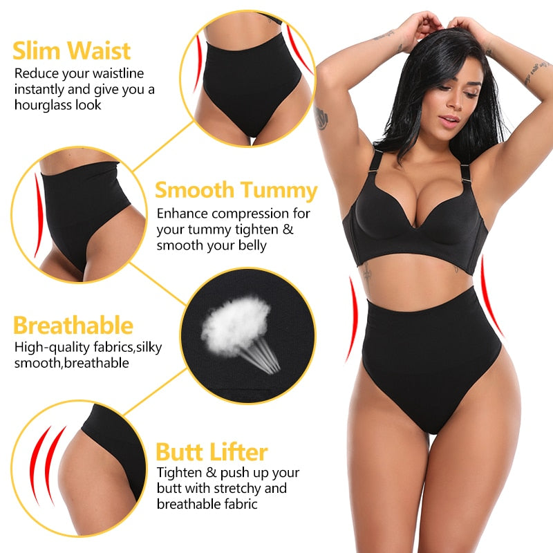 Slimming Waist Trainer Butt Lifter Pants Women Wedding Dress Seamless Pulling Underwear Body Shaper Tummy Control Panties Briefs
