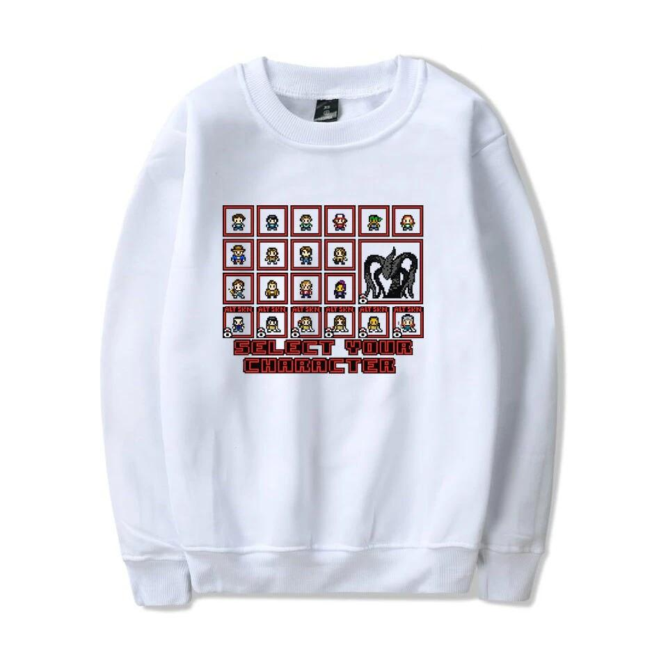 Stranger Things Fashion Printed O-Neck Sweatshirts Long Sleeve Casual Streetwear